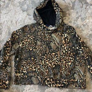 Zara Animal Print hoodie